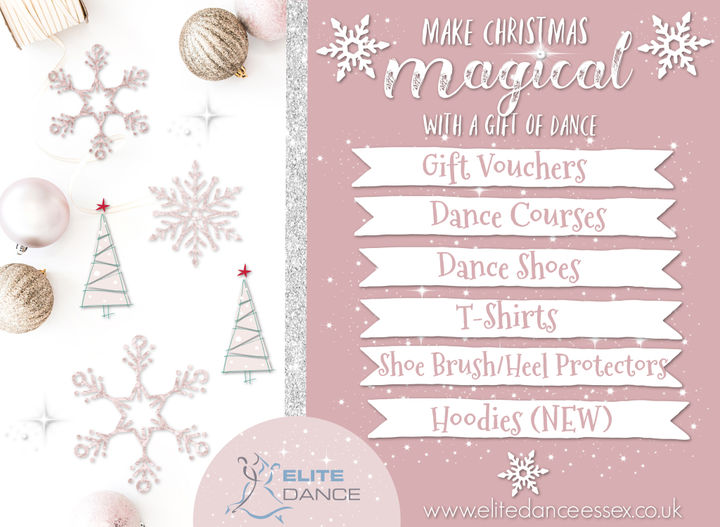 Christmas Gifts with ELITE Dance